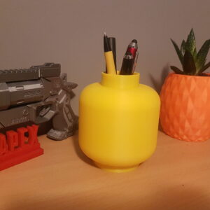 Big Brick Minifig head desk organiser